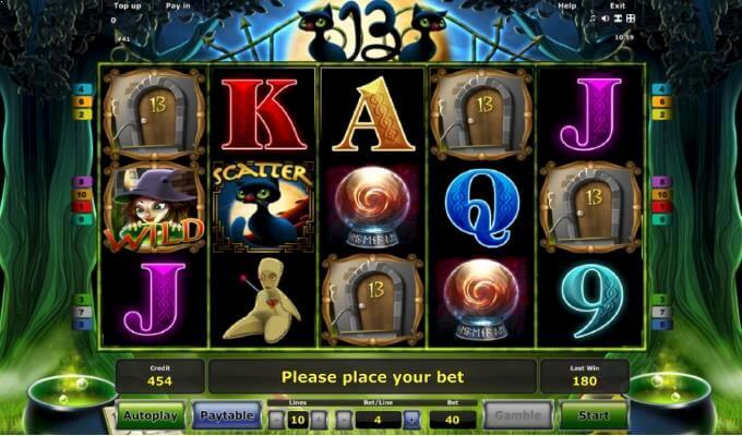 Novomatic Slot 13