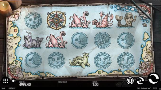Uncharted Seas Thunderkick Slot