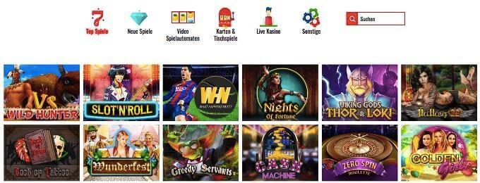 14Red Casino Spiele