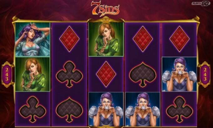 7 Sins Slot Play 'N GO