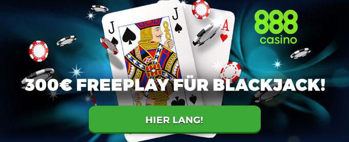 Gratis Blackjack, FreePlay, 888 Online Casino