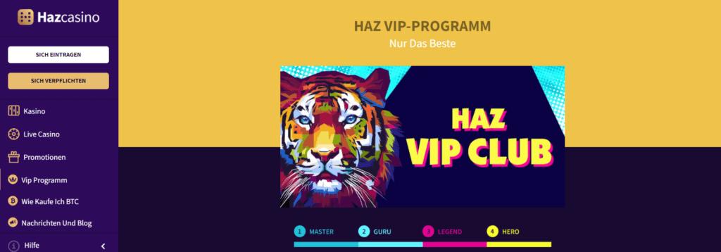 Haz Casino - VIP