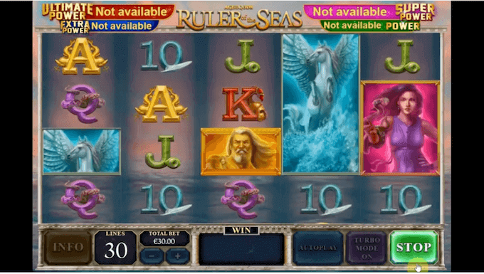 Age of the Gods Rulers of the Seas Slot