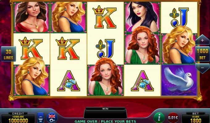 Amazing Ladies Novomatic Slot