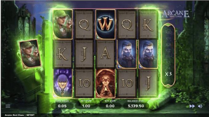 Arcane: Reel Chaos Slot NetEnt