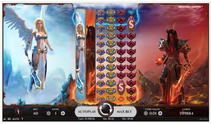 Archangels Salvation Slot NetEnt