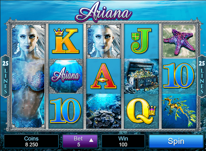 Ariana Microgaming Slot
