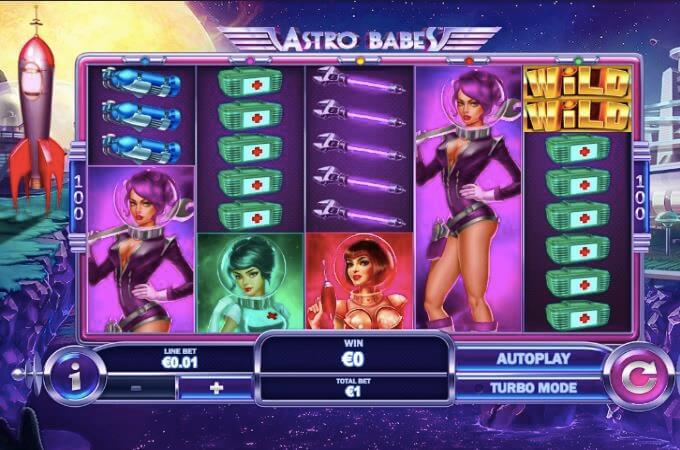 Astro Babes Playtech Slot
