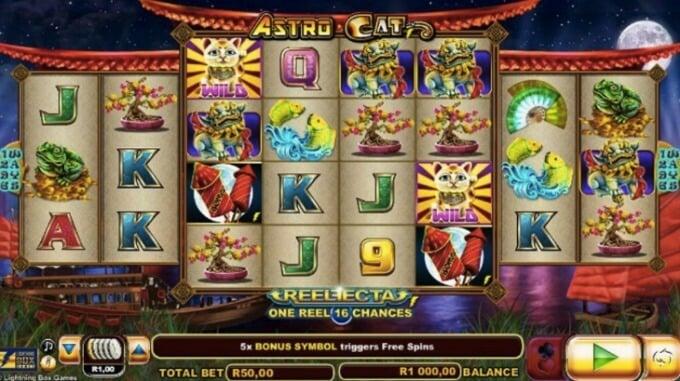 Astro Cat Slot NYX Gaming