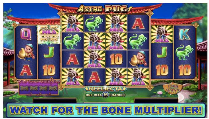 Astro Pug Lightning Box Slot