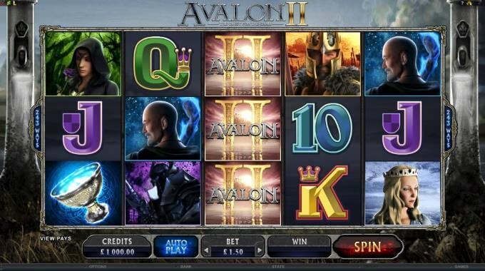 Avalon II Microgaming Slot