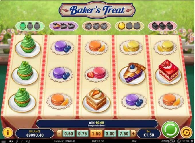 Bakers Treat Play n GO Slot