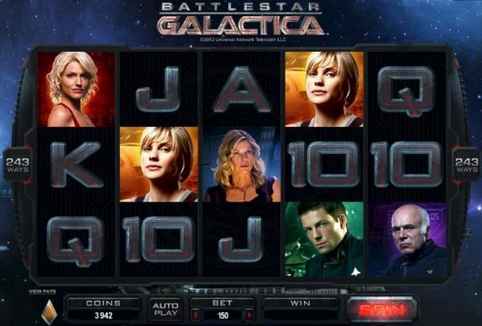 Battlestar Galactica Microgaming Slot