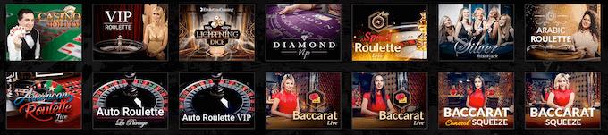 bCasino Live Casino