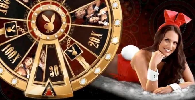 Playboy Gold Slot Microgaming Bonus Wheel