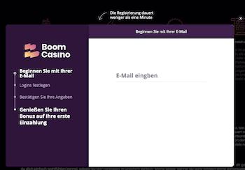 Boom Casino Anmeldung