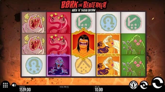 Bork the Berzerker Thunderkick Slot