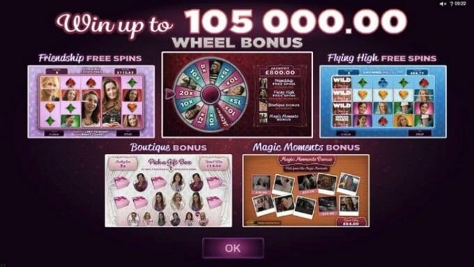 Bridesmaids Slot Bonus Feature