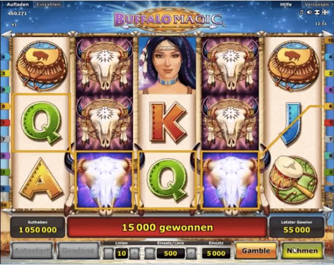 Buffalo Magic Novomatic Slot