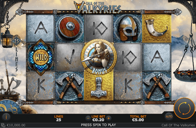 Call of the Valkyries Playtech Slot