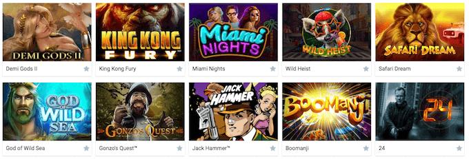 Campeonbet Casino Spiele