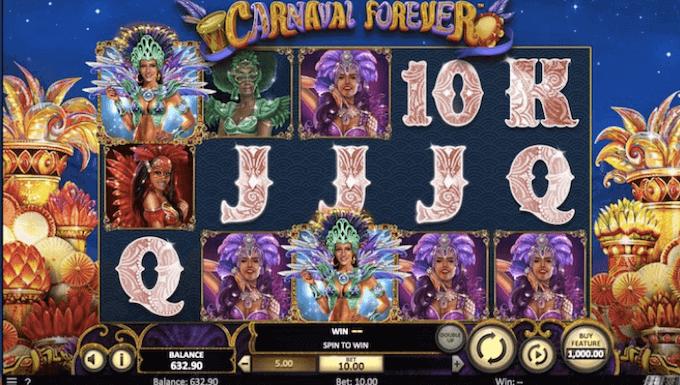 Carnaval Forever Betsoft Slot