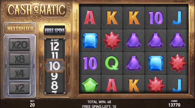 Cash-O-Matic Slot NetEnt