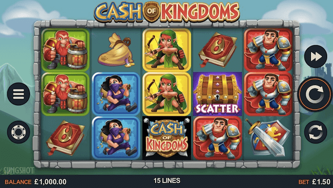 Cash of Kingsdoms Microgaming