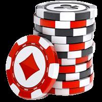 Casino Chips Stapel