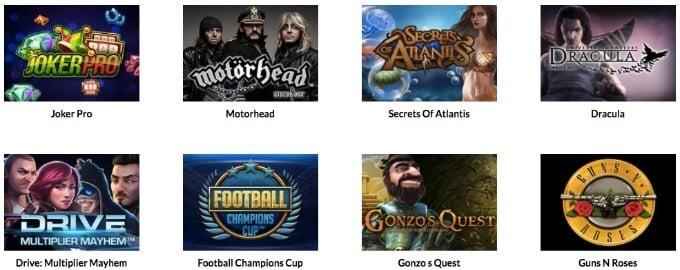 Casino Superlines Spiele