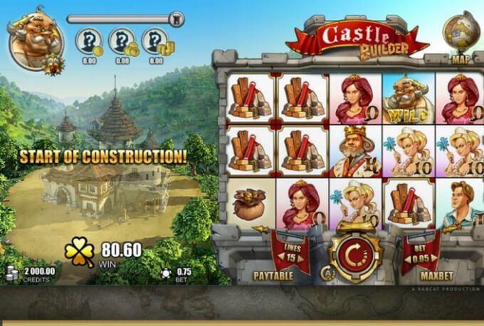 Castle Builder Rabcat Slot