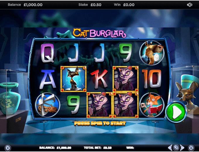 Cat Burglar Slot NextGen