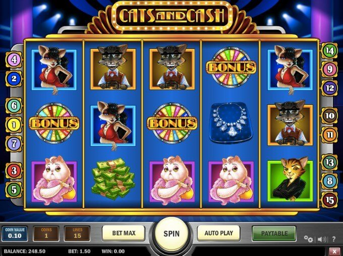 cats and cash slot Play N GO Online Casino