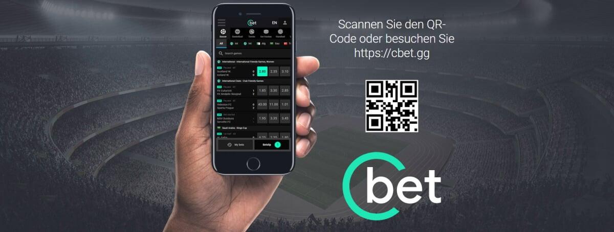 Cbet mobiles Angebot