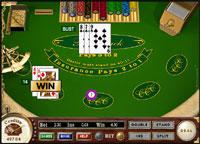 Blackjack Tisch klein