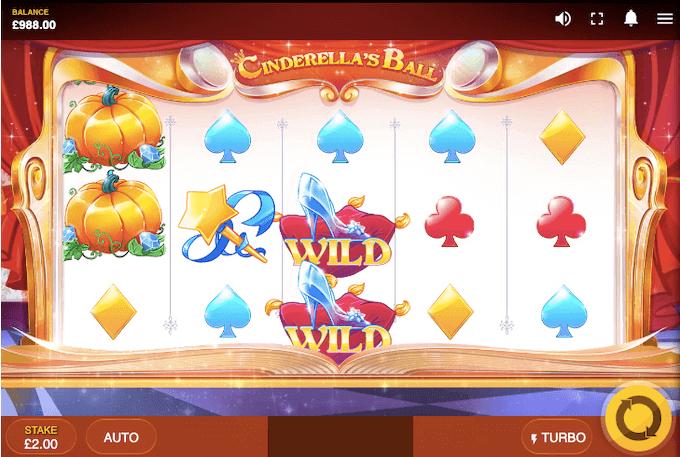 Cinderella's Ball Red Tiger