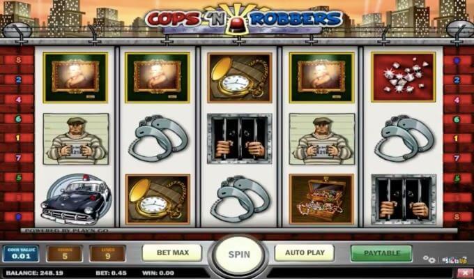 Cops n Robbers Play'n GO Slot