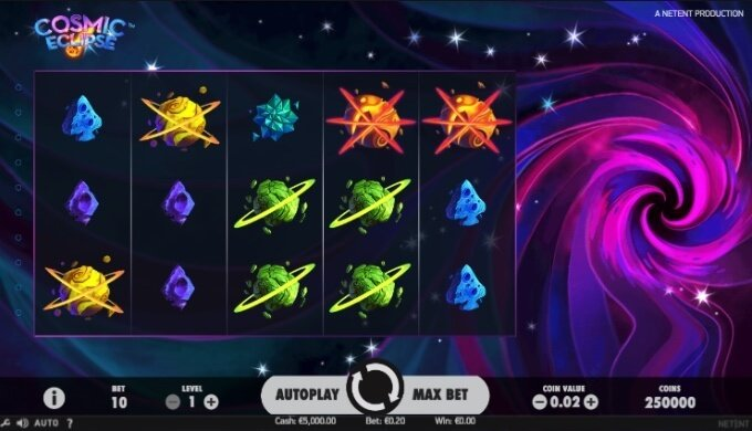 Cosmic Eclipse NetEnt Slot