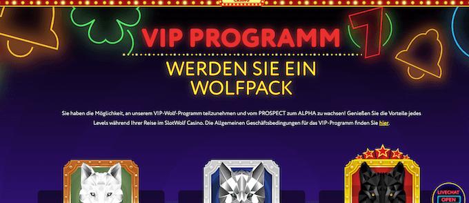 Slotwolf VIP