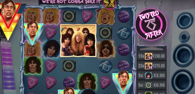 Twisted Sister Slot Symbols