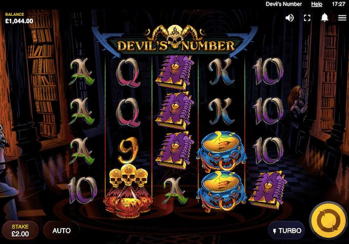 Devils Number Red Tiger Slot