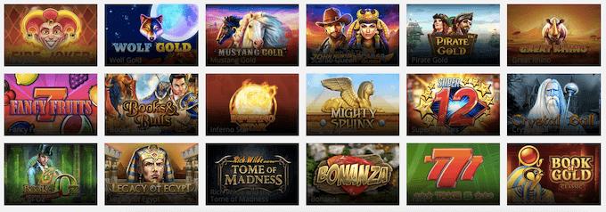 Digibet Casino Spiele