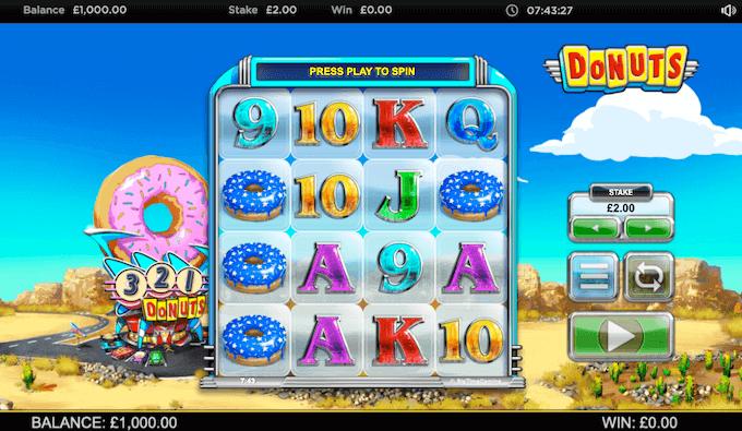 Donuts Big Time Gaming Slot