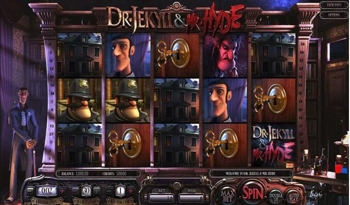 Dr Jekyll & Mr Hyde Betsoft Slot