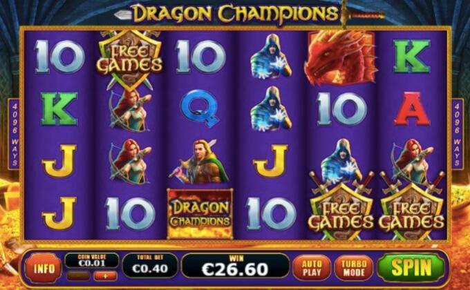 Dragon Champion Playtech Slot