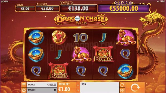 Dragon Chase Quickspin