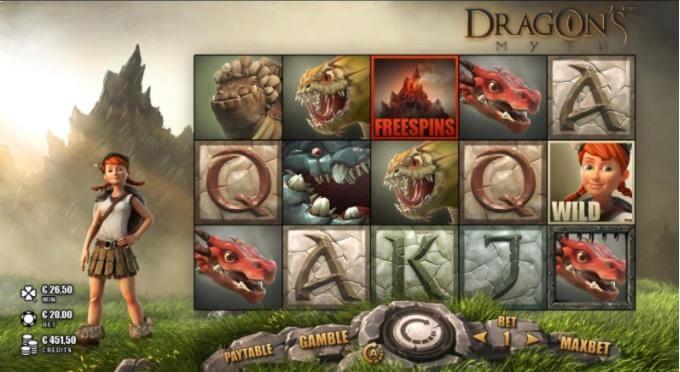 Dragon's Myth Rabcat Slot