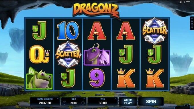 Dragonz Slot Micrograming