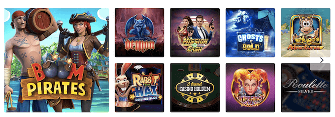 EagleBet Casino Spiele