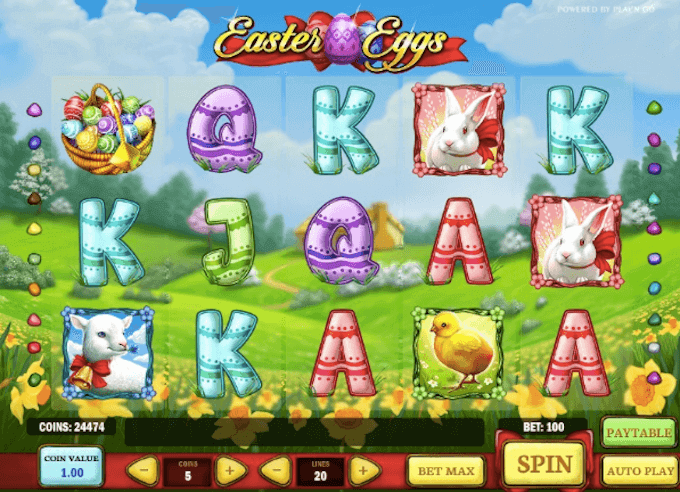 Easter Eggs Play n GO